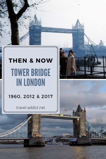 Pin for Then & Now Tower Bridge