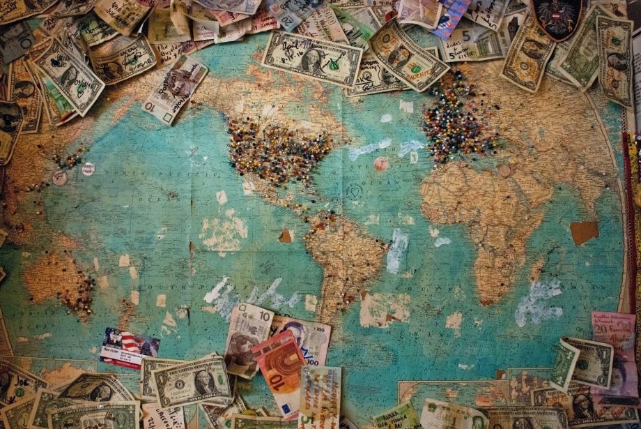 Travel Money by Christine Roy
