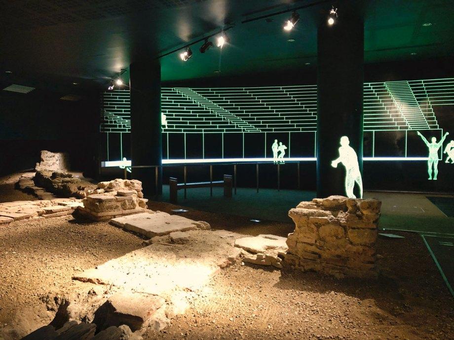 London Roman Amphitheatre, courtesy of DutchGirlInLondon