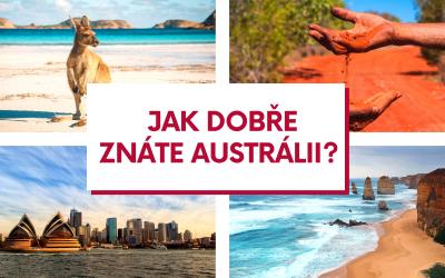 Kvíz – Jak dobře znáte Austrálii?