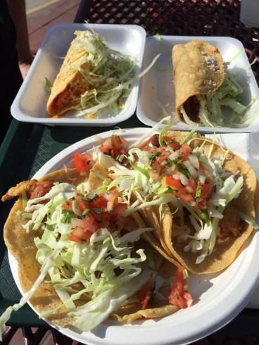Favorite burrito man in La Jolla
