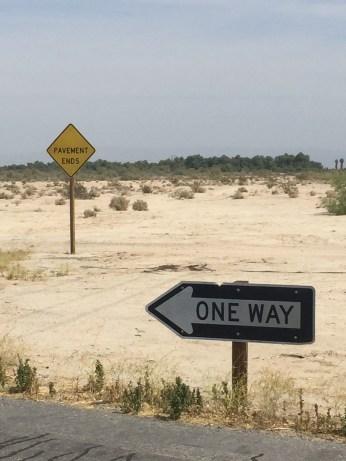 On the way to Salton Sea