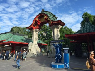 Elephant Gate @Berlin Zoo