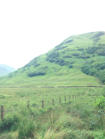On the road to Inverness: Glencoe