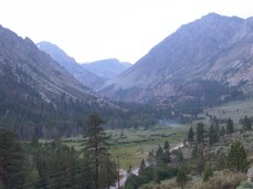View from first stop after Tioga Pass