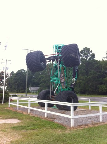 Grave Digger Truck, Outer Banks, NC