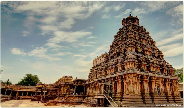 Historical Places in South India : Airavateshwara Temple
