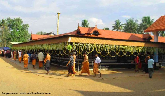 famous hindu religious places in india Chottanikkara-Temple