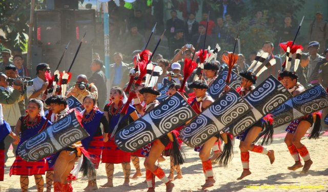 Fairs And Festivals In India In May : Moatsu Mong Festival