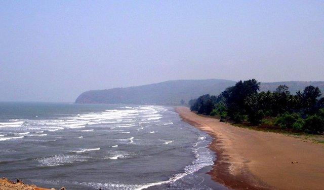 Top 7 Beaches on Maharashtra Konkan Coast : Shrivardhan Beach
