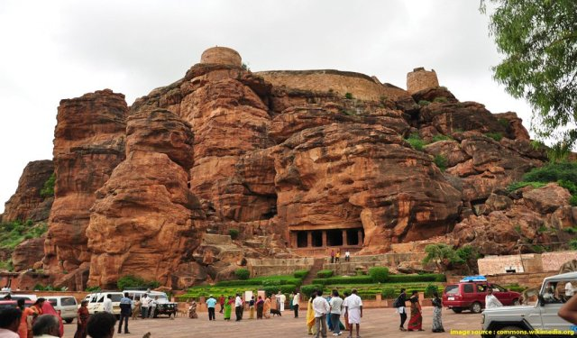 rock cut caves india