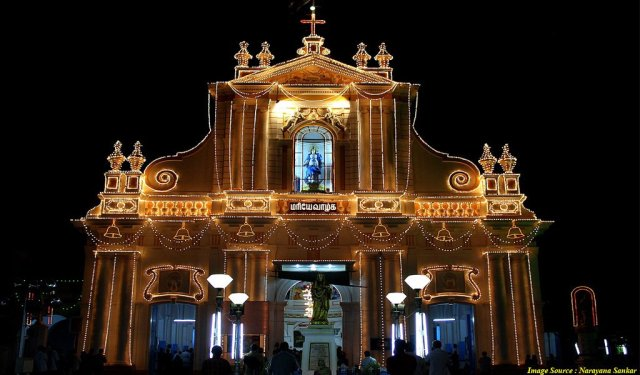 Places to Celebrate Christmas in India
