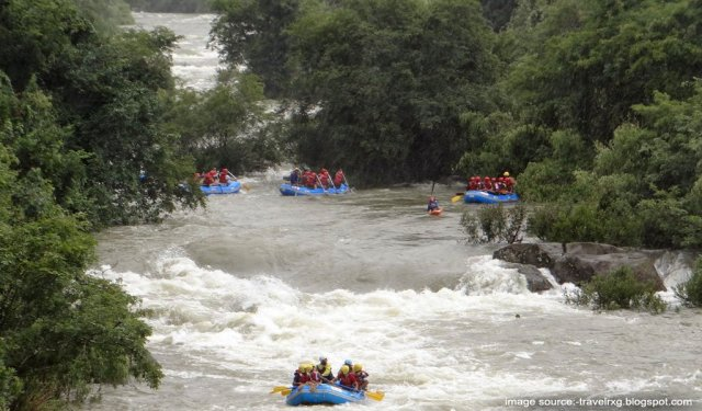River Rafting In India: Barapole, Coorg