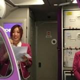 9/24peach仙台ー新千歳線新規就航 (機内編)