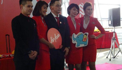 タイ・エアアジアX XJ639便就航初便搭乗レポート