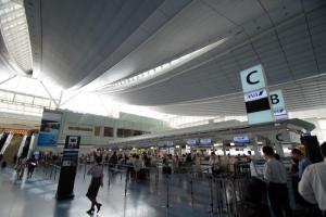 羽田空港 ANA Cカウンター