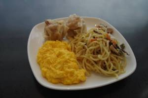 羽田空港国際線 ANAラウンジの食事