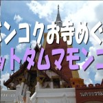 【バンコクお寺めぐり】ワットタムマモンコン☆WAT DHAMMAMONGKOL【タイ旅行】【Bangkok】