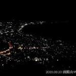 【函館山ロープウェイ】北海道地震の停電から5日後の函館の夜景