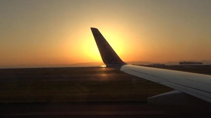 夕日に浮かぶ名古屋市街からセントレアへの着陸!【上海一人旅17】Traveling alone in Shanghai