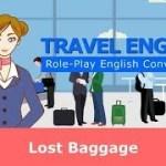 【海外旅行英会話】ロストバゲージ★Travel English conversation : Lost Baggage★