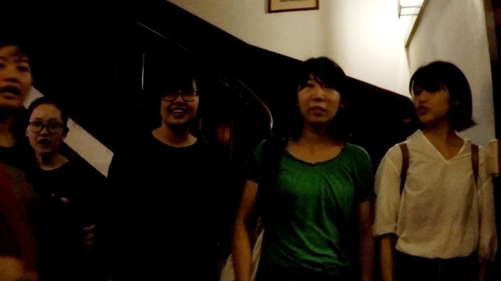 おっさんの一人旅 VIETNAM/CHINA-51 ベトナム、中国旅行 もう1人の天使も日本料理を食す?