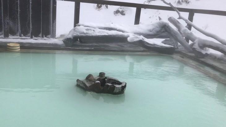 万座温泉絶景 雪見露天風呂