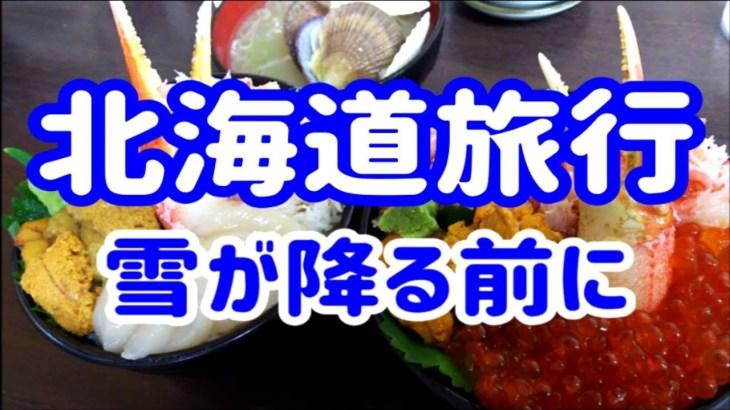 雪が降る前に・北海道旅行 すすきの, 小樽, 三角市場, 2016.9.17~20 / JALマイル旅行 / 旅行記 HOKKAIDO Trip