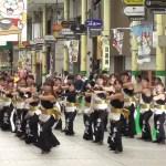 第2回 よさこい高松祭り 2017 高知学生 旅鯨人(たびげいにん) 田町商店街パレード