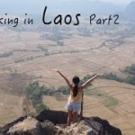 Backpacking Solo in Laos 2 バックパッカー女子大生|一人旅|ラオス②