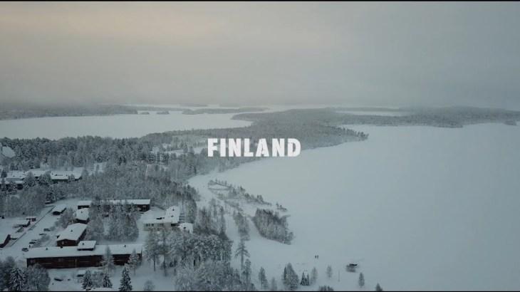 【海外旅行】年末年始フィンランドに行ってきた!まとめ動画 オーロラは見えず涙 DJI Mavic Pro ドローン空撮 4K映像 4K放送