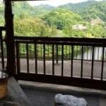 亀山温泉 湖水亭 嵯峨和 絶景露天風呂