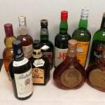 昔海外旅行等で購入しました外国産ウィスキーの買取沢山ありました、飲まないお酒はお金に替えちゃいましょう