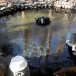 混浴 糠平温泉 糠平館観光ホテル 露天風呂 男女別内湯 朝食 Hokkaido Nukabira Onsen Kanko Hotel Open Mixed Bath