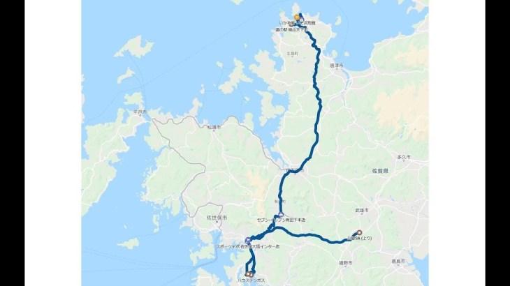 20190501 中国地方、九州 車中泊旅行 4日目