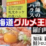 【札幌・グルメ】北海道グルメを満喫‼『北海道定食屋・北海堂』