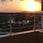 【ひとり旅】【感動】この素晴らしい夕陽に、最高に合うものがそこにはあった・・