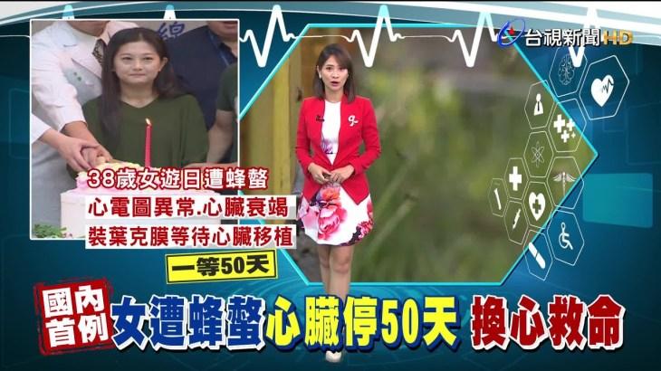 日本旅行遭蜂螫 女子返台就醫心臟停跳