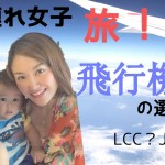 子連れ飛行機in海外★飛行機の選び方は?(赤ちゃんあり)