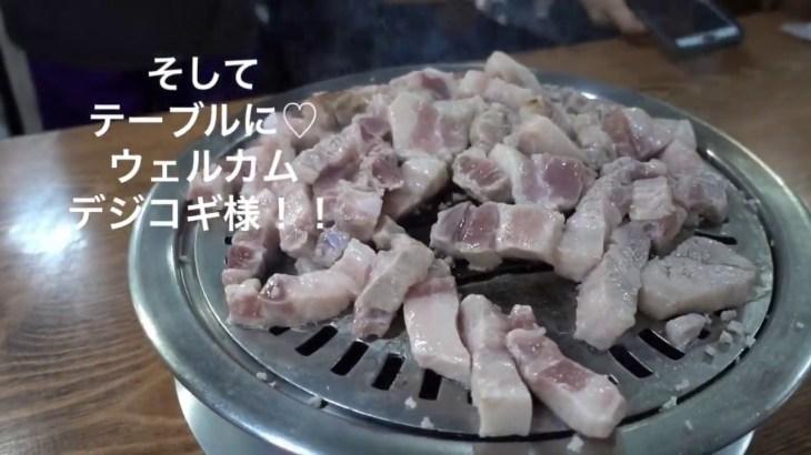 ひとり釜山〜하동집(ハドンチプ)の絶品デジコギ&キムチチゲ〜