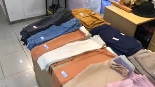南大門市場での子供服の買い物<<韓国旅行2019>>
