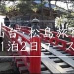 1泊2日仙台松島旅行~(▼詳細はブログ)観光モデルコースから穴場の仙台グルメまで一挙紹介/TOHOKU-SendaiーMatsushima trip guide movie