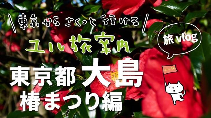 【東京島旅vlog】東京・大島椿まつり 東京からサクッと行けるユル旅【東京あれこれ vol.55】