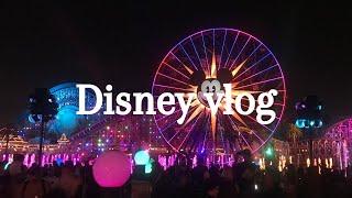 【ディズニーvlog】LAディズニー|ワールドオブカラー|大学生|女子旅