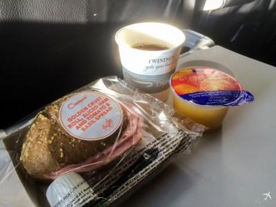 British Airways Frühstück Kurzstrecke