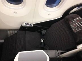 JAL Business Class Boeing 787 Sitz