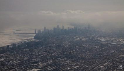 Im Flug Chicago