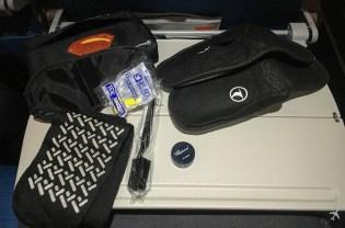 Turkish Airlines Economy Class Amenity Kit Inhalt