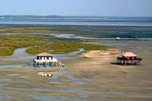 Arcachon bay shacks