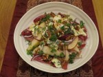 Chicory, Pear & Blue Cheese Salad